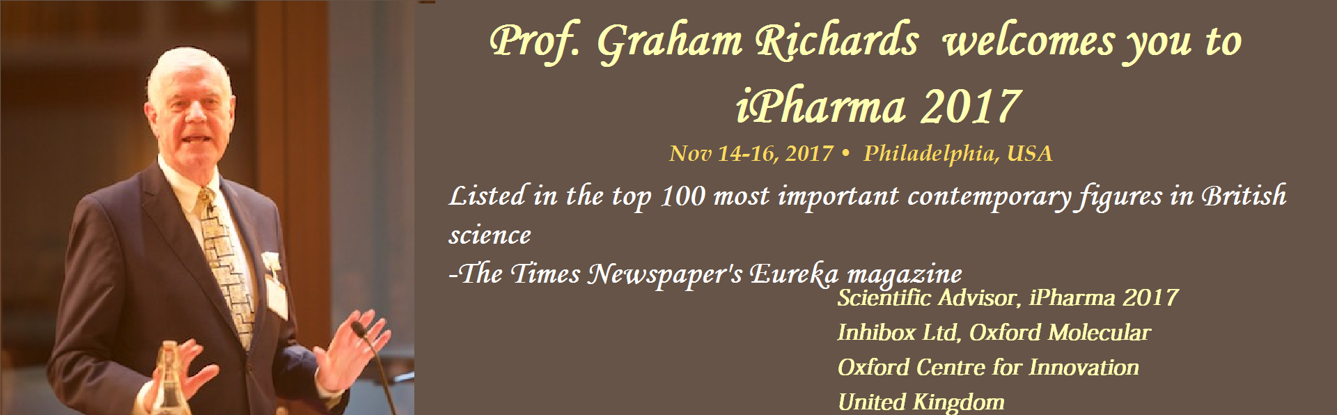 Prof Graham Richards_Scientific Advisor
