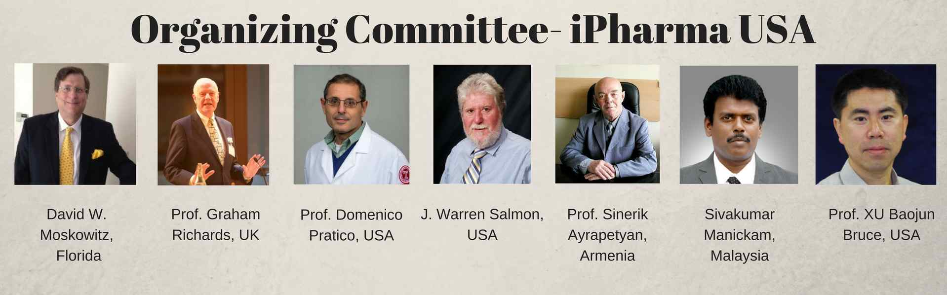 Organizing Committee_iPharma2017