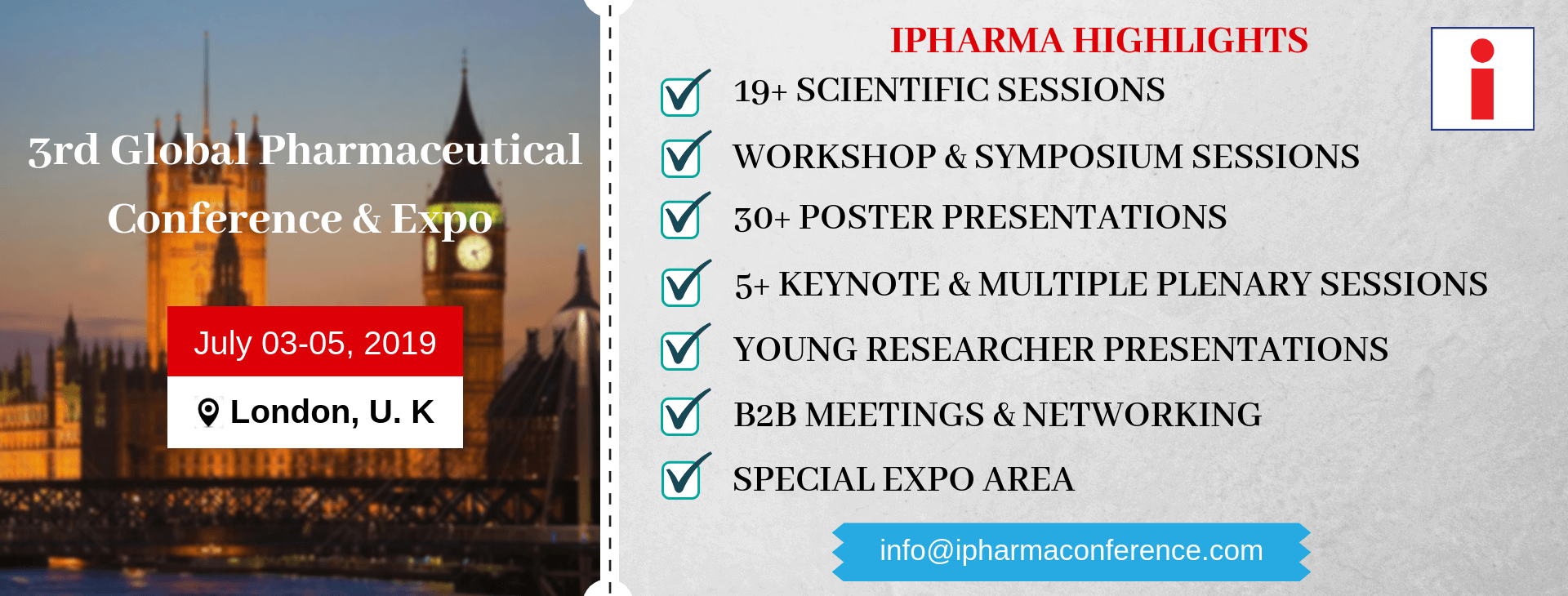 ipharma banner- conference highlights