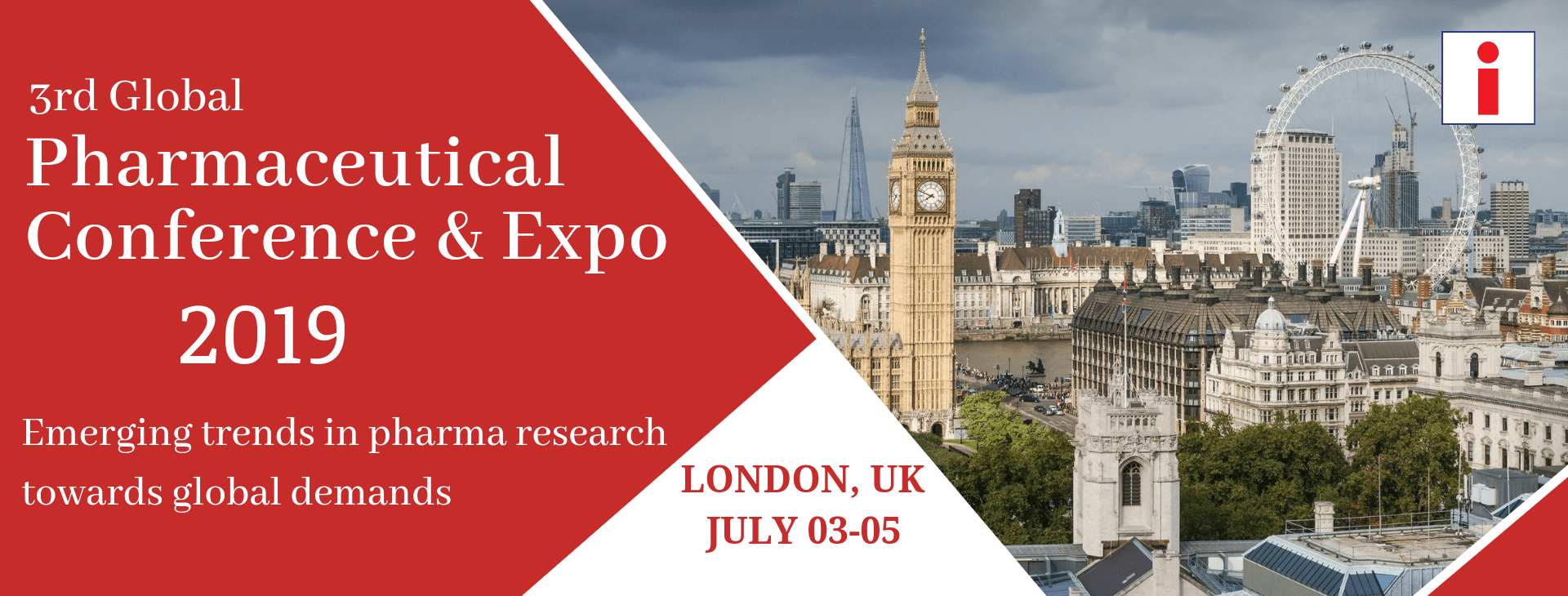 Banner for ipharma london event