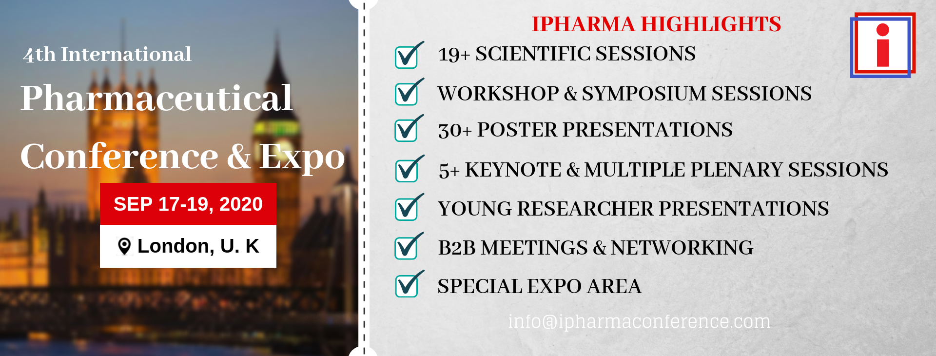 ipharma banner for conference highlights