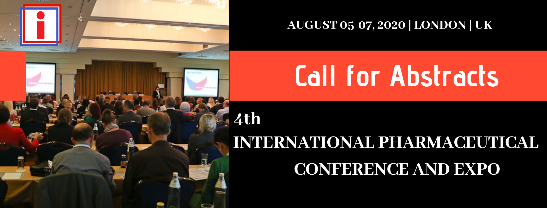 i Pharma call for abstracts banner