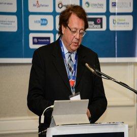Nigel Smart speaker for iPharmaUK